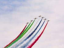 Airshow Slowakije SIAF 2017 Royalty-vrije Stock Afbeeldingen