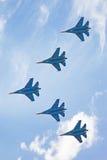 Airshow Su-34 Стоковая Фотография RF