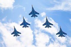 Airshow Su-34 Стоковая Фотография