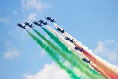 Airshow-Team Lizenzfreie Stockbilder