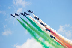 Airshow team Royalty Free Stock Images