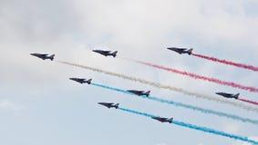 Airshow uma exposição Fotografia de Stock Royalty Free