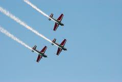 Airshow w Belgia Zdjęcia Stock