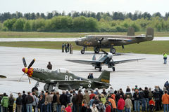airshow warbird Στοκ Φωτογραφία