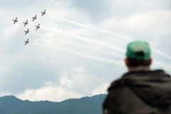 Airshow 2013, Zeltweg, Áustria do Airpower Fotos de Stock Royalty Free