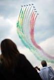 Airshow 2013, Zeltweg, Áustria do Airpower Foto de Stock Royalty Free