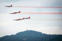 Airshow 2013, Zeltweg, Áustria do Airpower Imagem de Stock Royalty Free