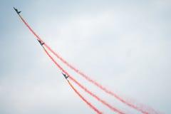 Airshow 2013, Zeltweg, Áustria do Airpower Imagens de Stock