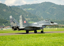 Airshow in Zeltweg Stock Photos