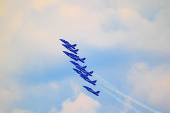 Airshow in Zhukovsky, Russia Stock Photos