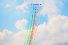 Airshow in Zhukovsky, Russia Royalty Free Stock Photography