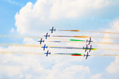Airshow in Zhukovsky, Russia Stock Images