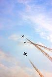 airshowporslin Arkivfoto