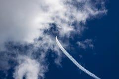 Airshows och militärt flygplan Fotografering för Bildbyråer