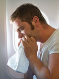 Airsickness. Stock Images