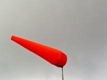 airsock Fogo-vermelho Fotos de Stock