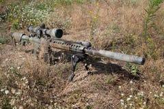Airsoft狙击步枪 图库摄影
