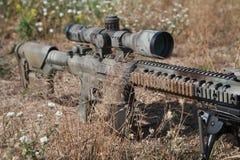 Airsoft狙击步枪 免版税库存图片