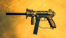 Airsoft gevär Arkivfoton