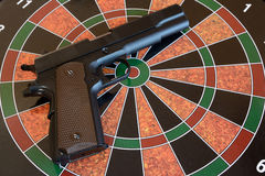 Airsoft handgun Royalty Free Stock Image