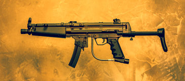 Airsoft Rifle Royalty Free Stock Images