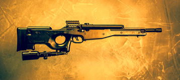 Airsoft Rifle Stock Images