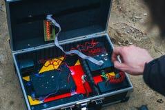 Airsoft-Spieler Lizenzfreies Stockfoto