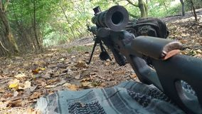 Airsoft SVD stock images