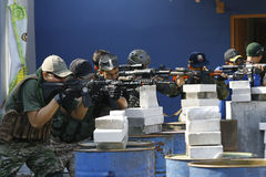 Airsoftgun Imagem de Stock