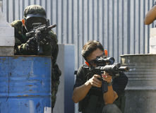 Airsoftgun Foto de Stock Royalty Free