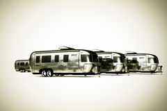 Airstream camper Royalty Free Stock Photo