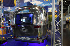 Airstream caravan Stock Photo