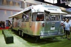 Airstream Classic car on display at The 36 th Bangkok Internatio Stock Photography
