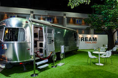 Airstream Classic car on display at The 37th Bangkok International Motor Show Royalty Free Stock Image