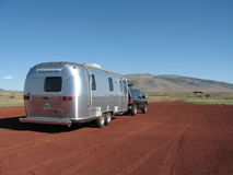 Airstream stop Royalty Free Stock Photos