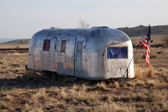 Airstream Trailer Royalty Free Stock Images