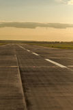 Airstrip at the airport Royalty Free Stock Photo
