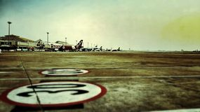 Airstrip Royalty Free Stock Images