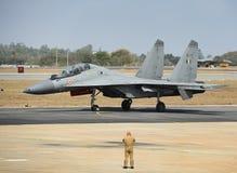 印地安人Airt力量苏霍伊30 MKI 库存图片
