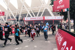 Airtel Half Marathon 2014 Stock Image