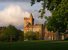 Airthrey Castle, Stirling Royalty Free Stock Photo