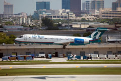 AirTran波音717 库存图片