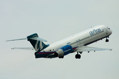 AirTran Boeing 717 plane Stock Photos