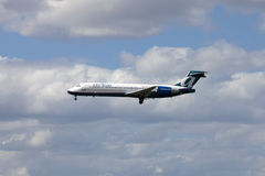 AirTran Passenger Jet Airliner Royalty Free Stock Photography