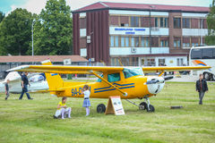 AIRVG2017航空天在大戈里察 库存照片