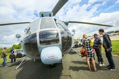 AIRVG2017航空天在大戈里察 免版税库存图片