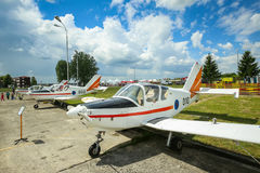 AIRVG2017 Aviation day in Velika Gorica Stock Photos