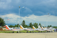 AIRVG2017 Aviation day in Velika Gorica Stock Image