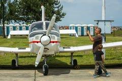 AIRVG2017 Aviation day in Velika Gorica Stock Photo