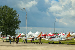 AIRVG2017 Aviation day in Velika Gorica Royalty Free Stock Images